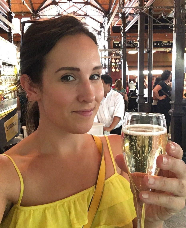 Jane from HungryCityHippy in Madrid