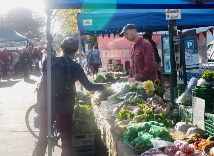 Riverside Market in full swing