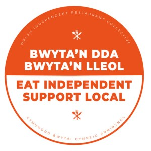Eat Indie Support Local badge
