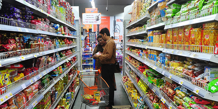 fmcg and beverages grew over 15 at big bazaar outlets