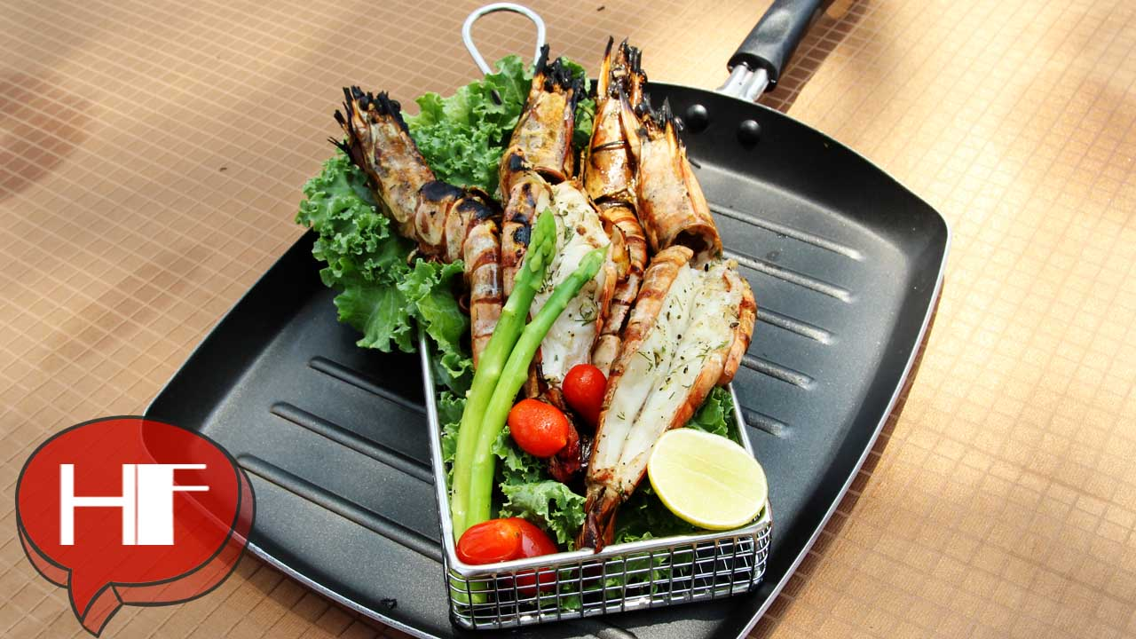 [Exclusive] Radisson Blu Resort Temple Bay's Oak & Dill Grilled Jumbo Prawns