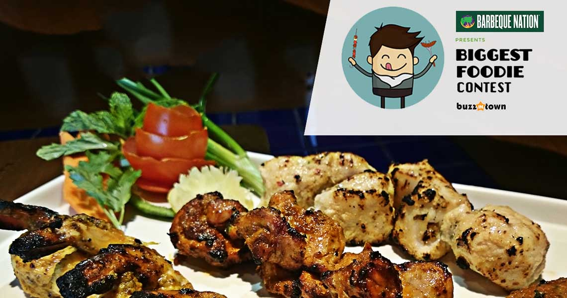Barbeque Nation Presents the Biggest Foodie Contest