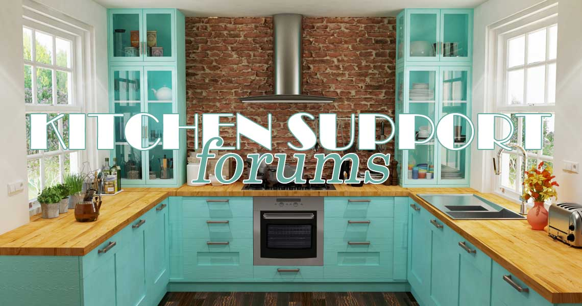 Our Kitchen Support Forums Are Now Open!