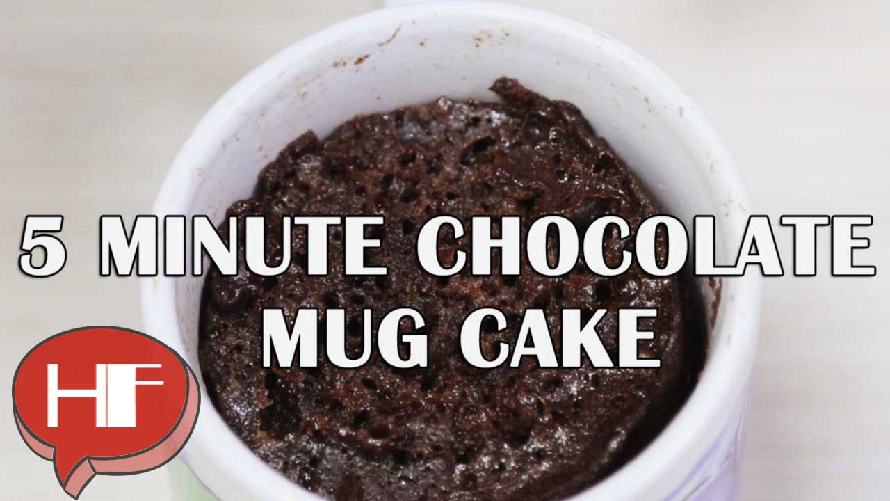 5 Minute Chocolate Mug Cake Recipe
