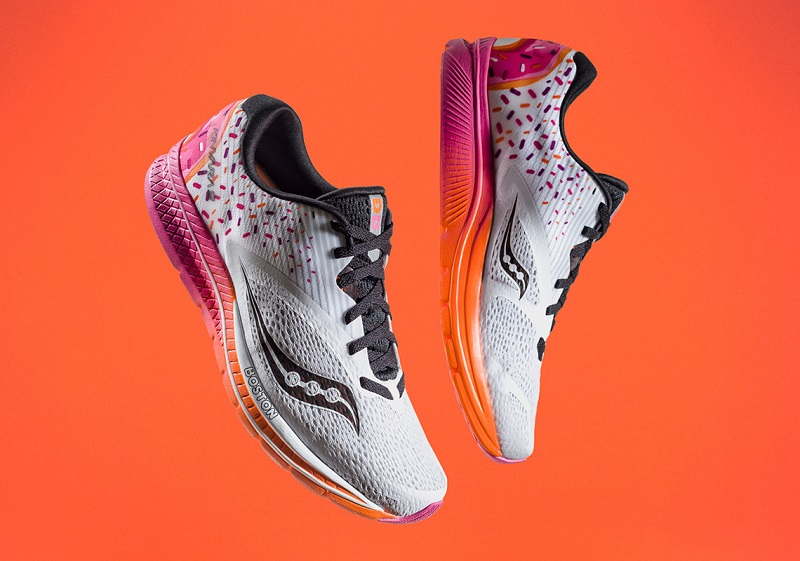 Dunkin' Donuts Sneakers Are Here Just in Time for the Boston Marathon
