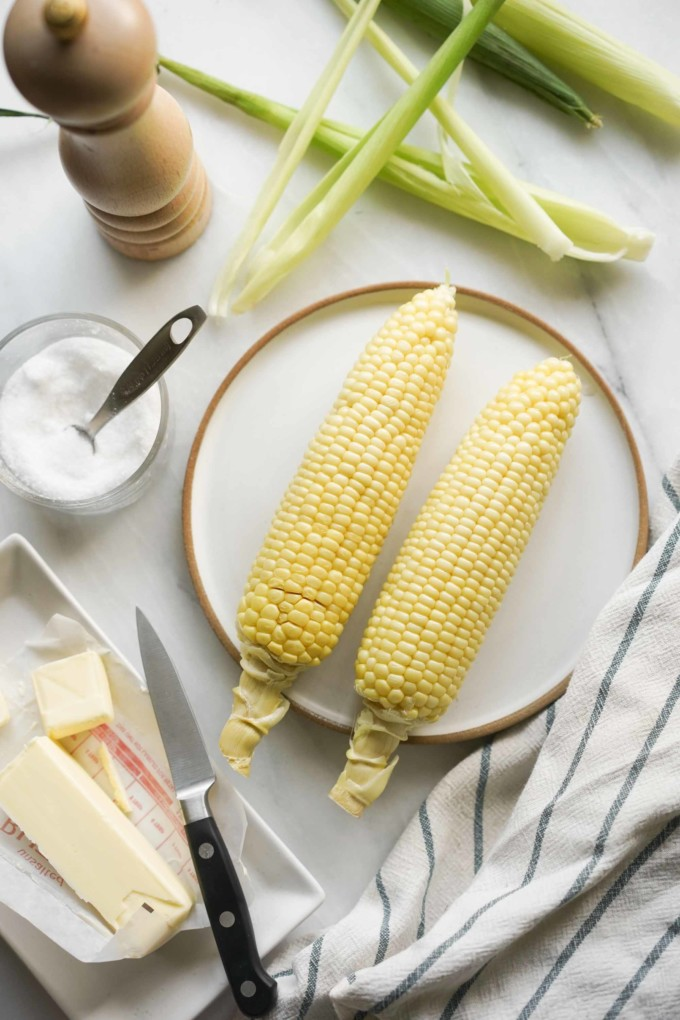 microwave corn on the cob fast easy