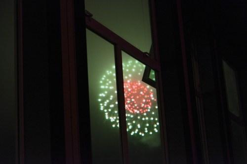 July 4th fireworks.