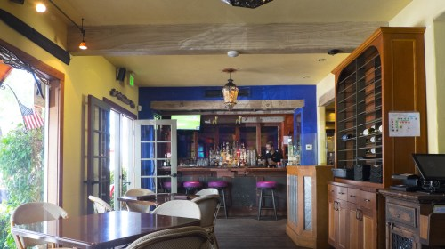 The bar.