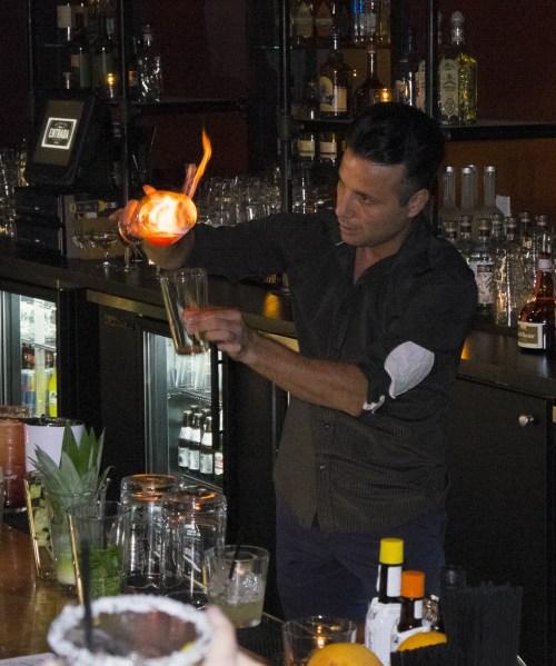 Atilla Iskifoglu World's Greatest Flair bartender.