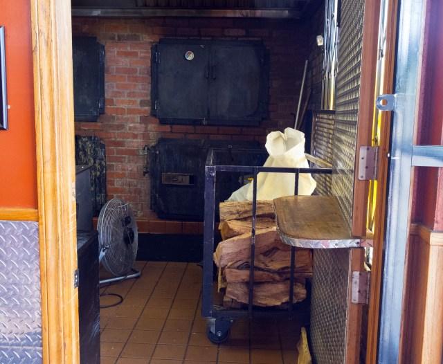 Wood + indoor smoker.