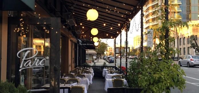 Parc Bistro 2760 Fifth Ave, San Diego, CA 92103 – Hungryones.com