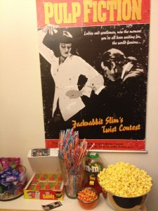 Pulp Fiction Themed Birthday Party #1