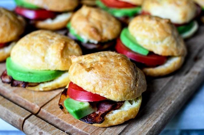 gougere mini sandwiches (5)