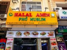 На мюсюлманската улица до пазара Бен Тан