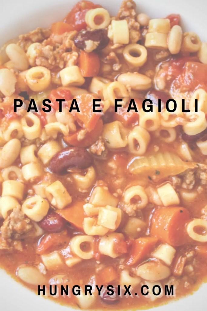 Pasta E Fagioli pin