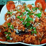 Tomato & Peanut Rice
