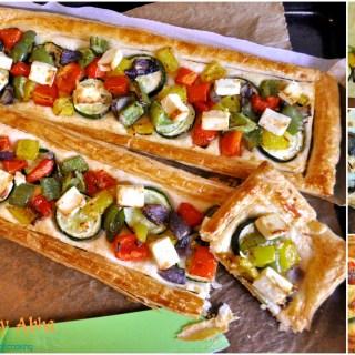 """""""Oven roasted Vegetable Tart"""""""