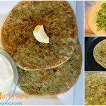 Broccoli & Onion parantha