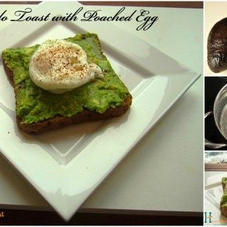 """Avocado Toast with Poached Egg"""