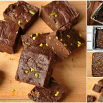 Chocolate Pistachio Fudge