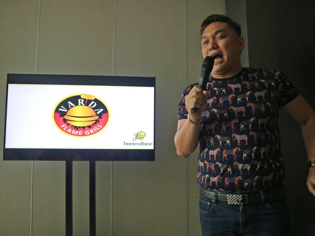 Honestbee Philippines Varda Burger Owner Chris Guarin