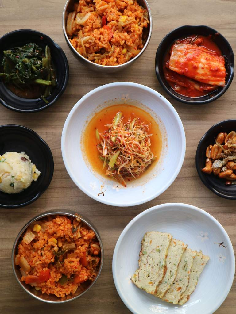 Unlimited Side Dish Soban K-Town Grill