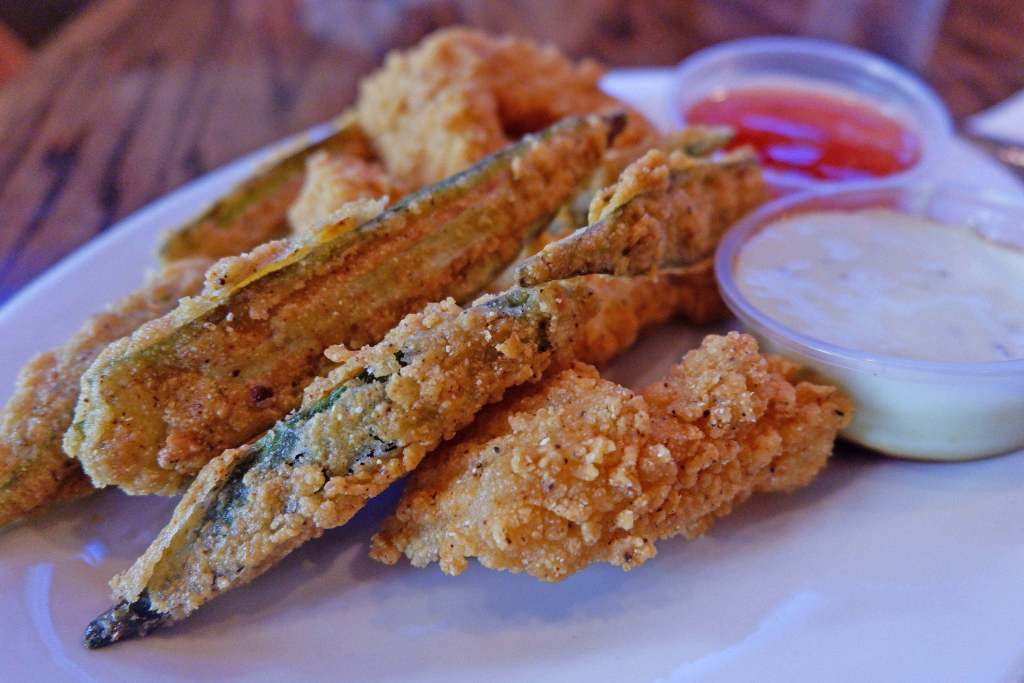 Atlanta Food Walks - Grant Park - Six Feet Under Catfish and Okra Fingers