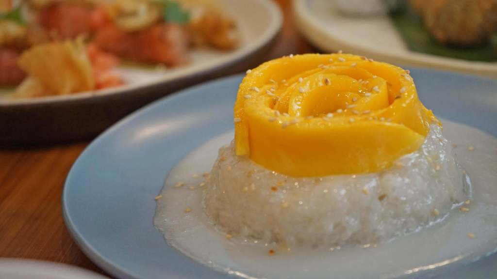 Muang Thai Restaurant Quezon City - Mango Sticky Rice