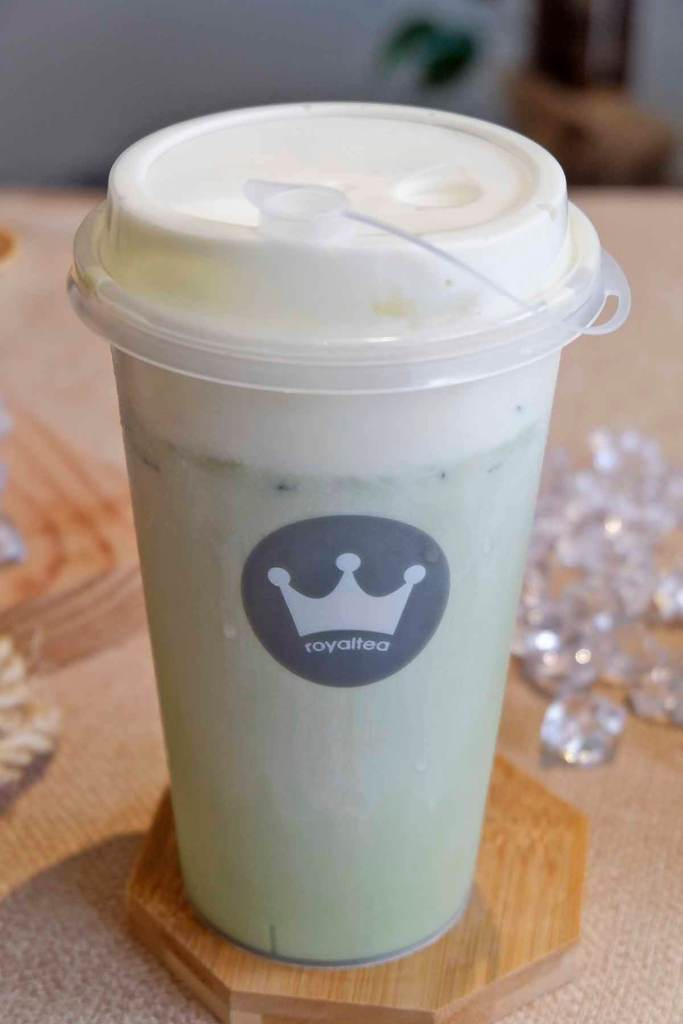 RoyalTea Philippines Matcha Cheezo tea