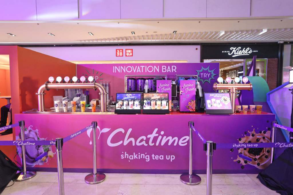 Chatime Shaking Up at 100 - Tea Tap and Innovation Bar