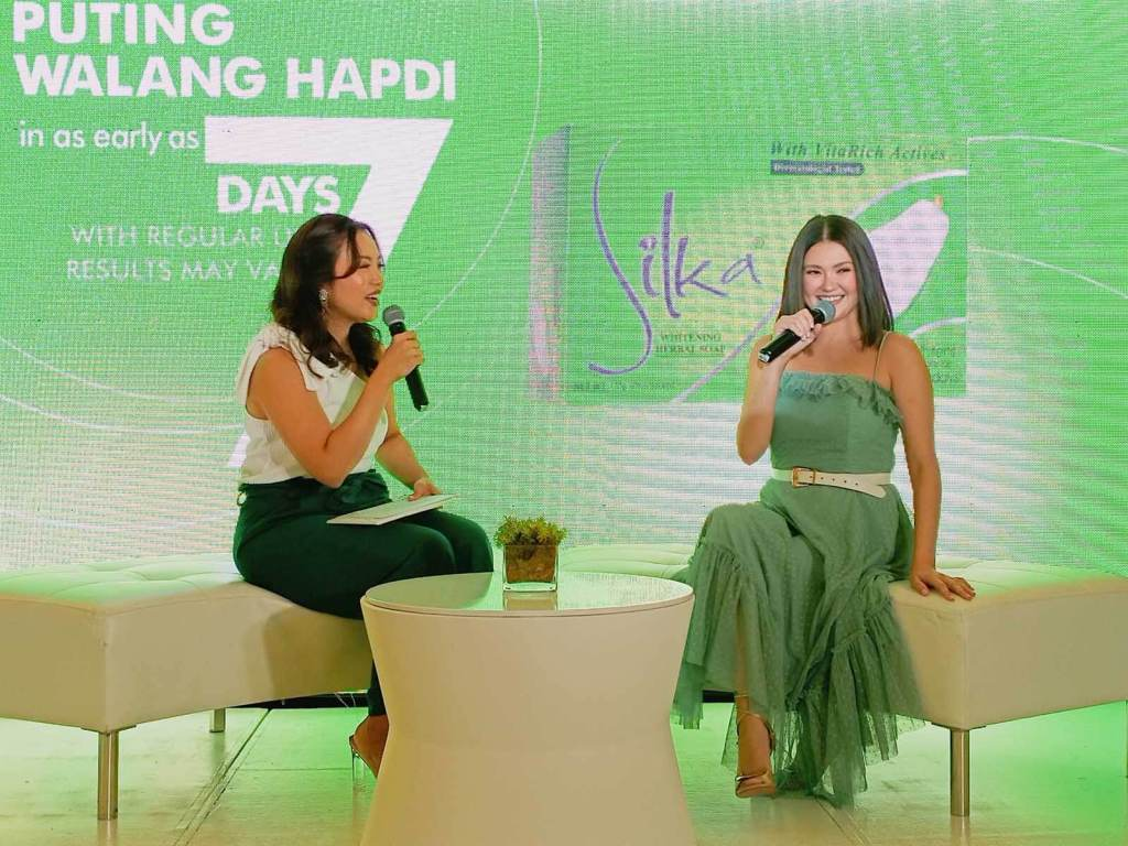 Silka Green Papaya Soap with Angelica Panganiban