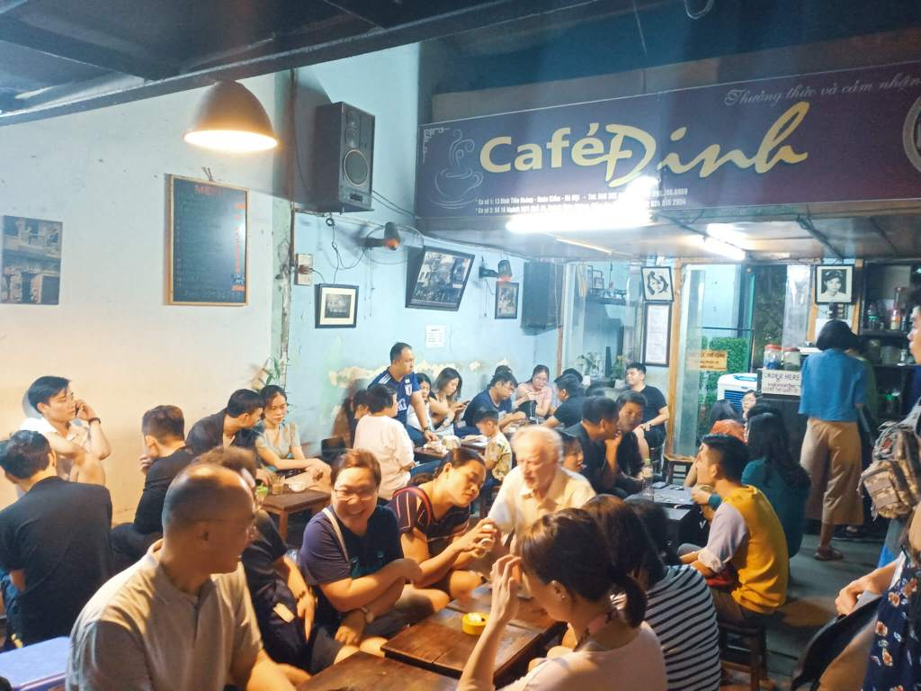 Hanoi Food Tour Old Quarter - Cafe Dinh - Egg Coffee