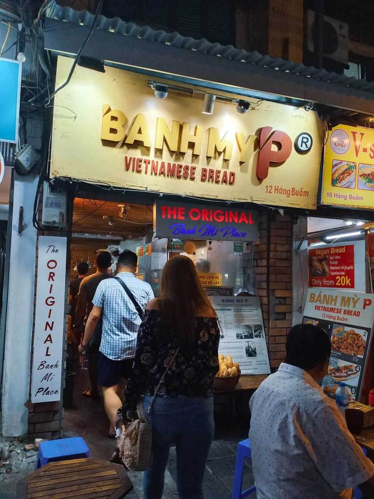 Hanoi Food Tour Old Quarter - Banh My P