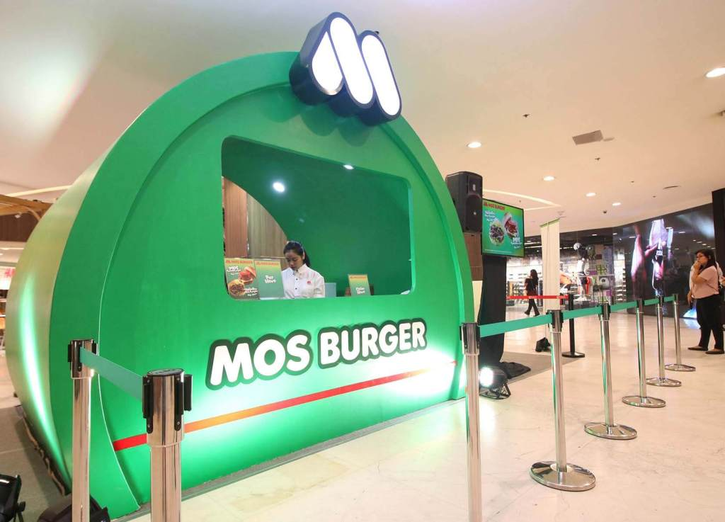 MOS Burger Philippines - Robinson's Galleria Pop-Up Store