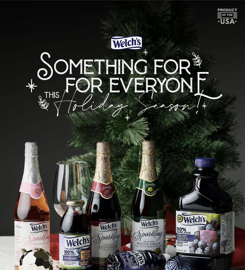 Welch's Sparkling Juices - Holiday Gift Idea