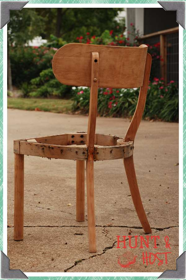 chair ready for makeover