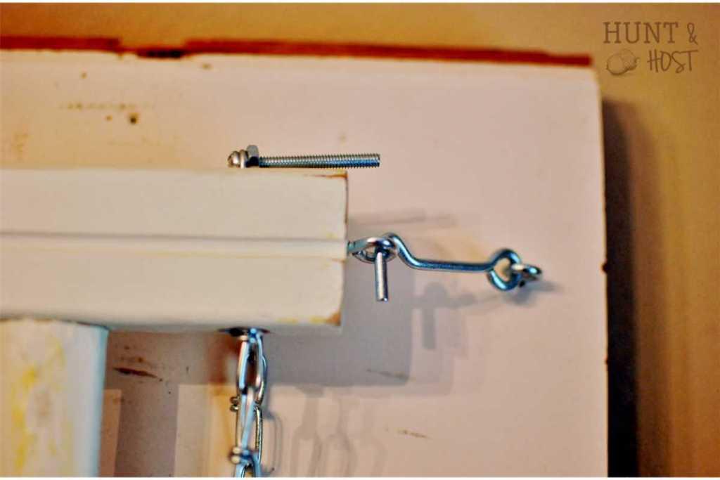 crib rail to laundry rack