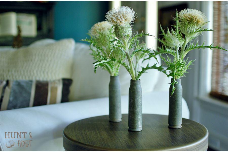 bullet bud vase