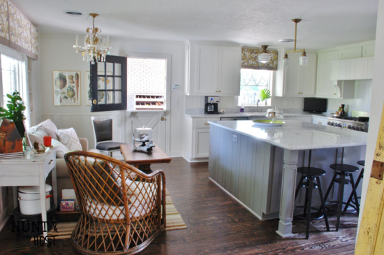 before and after home tour kitchen