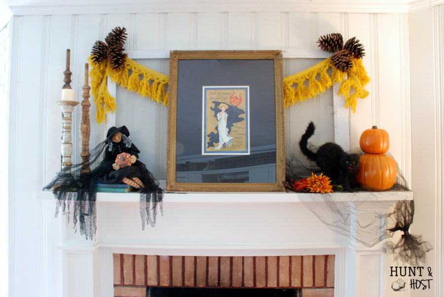 halloween decorations vintage style huntandhostnet - Vintage Style Halloween Decorations