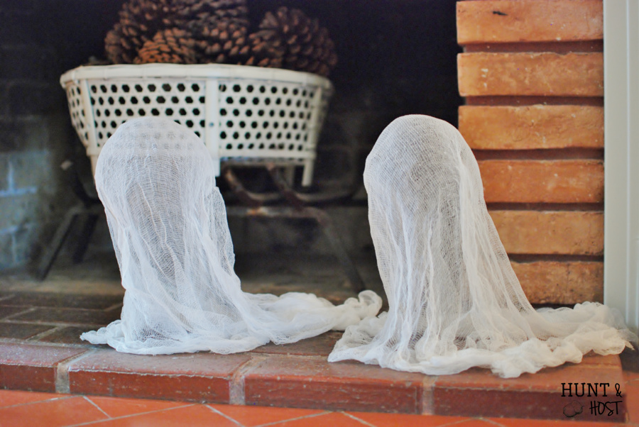 easiest cheesecloth ghosts huntandhost.net