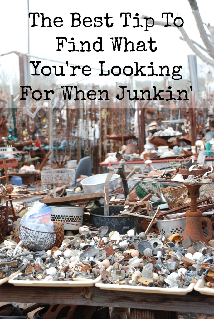 The best tip to find what you're looking for when junking www.huntandhost.net