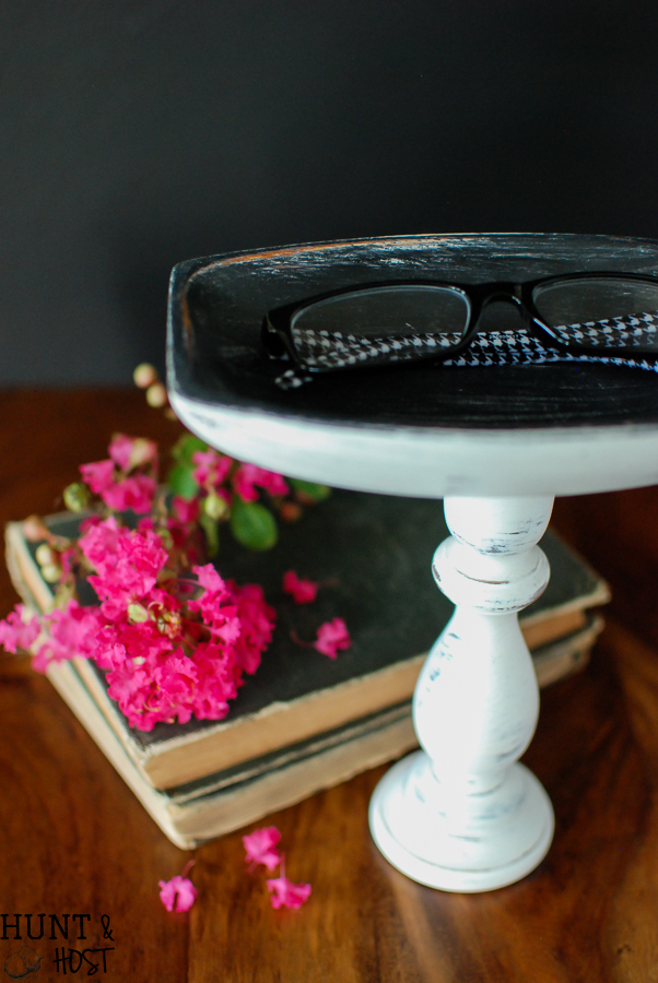 An eyeglass holder from thrifted finds. It's pinpoint purpose helps to outline steps for finding yours!