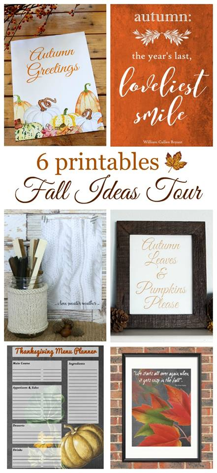 DIY Chalkboard Placemat: This DIY chalkboard placemat is perfect for fall or any other special occasion. It's just one stop on a tour of fabulous fall décor. Check out tablescapes, fall mantels, cozy fall porches, free printables and stunning wreaths on this blog hop!