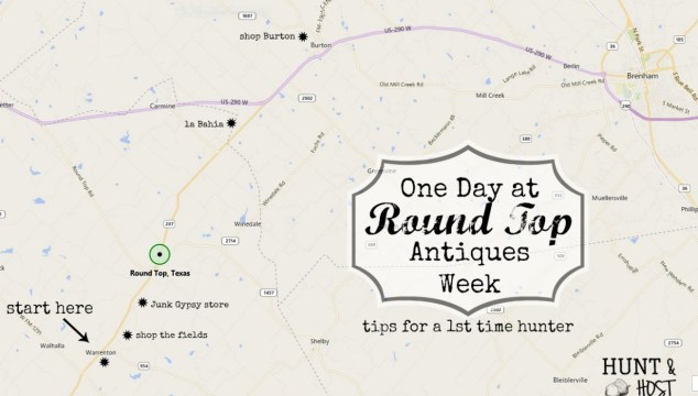 Tips for Navigating Round Top Antiques Week