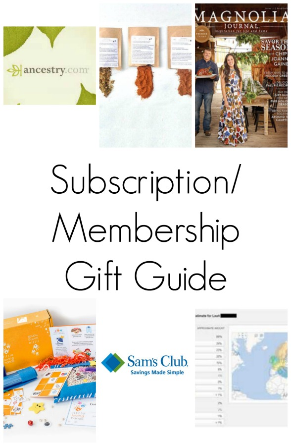 Give a gift that continues to give with these amazing memership and subscription gift ideas!