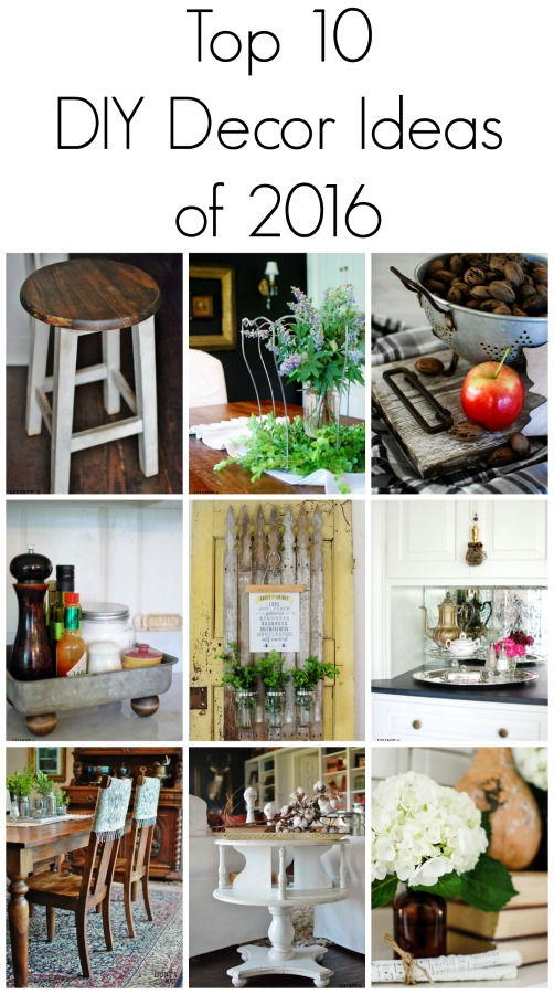 The Top 10 DIY Décor Projects Of 2016 Including A Farmhouse Tray, Aged  Barnwood,