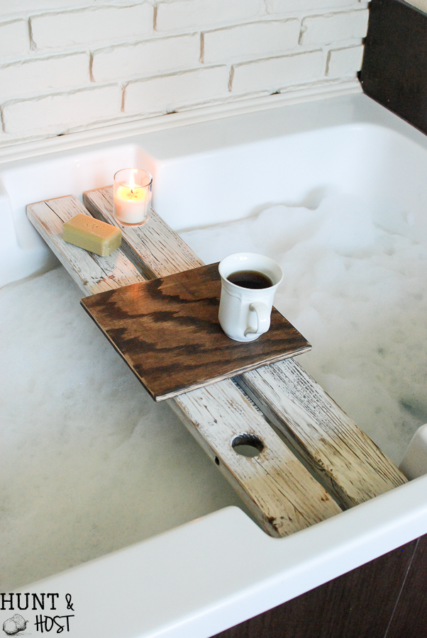Bath Tray with Book Rest - Hunt and Host