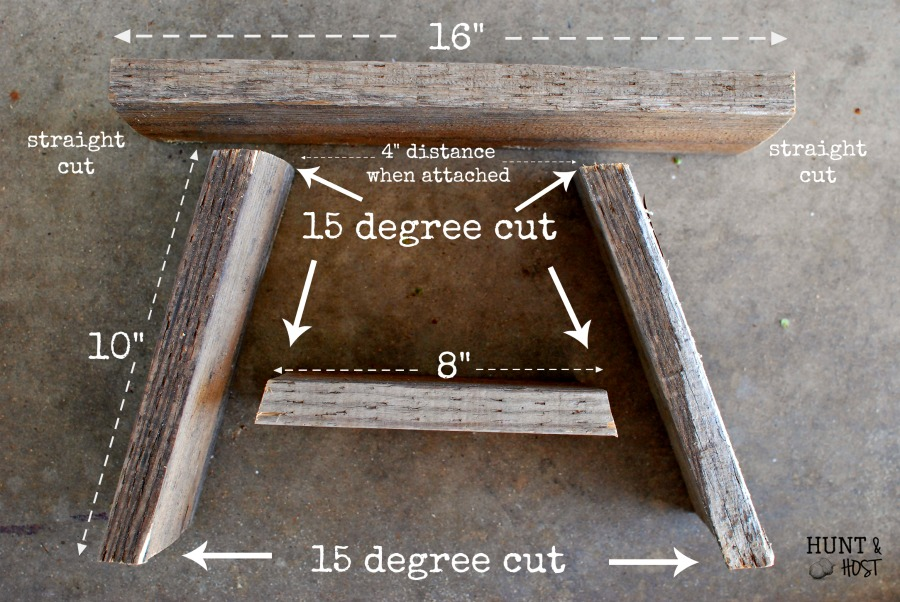 how to drill a pocket hole. how to make a pocket hole tutorial perfect for this one board stool. we use drill u