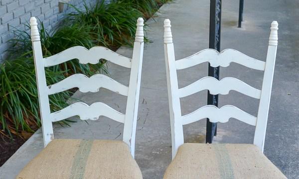 Broken Chair Repair, Outdoor Treasures